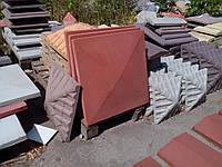 """Колпак бетонный на столб забора 600х600х80 """"Гладкая"""""""
