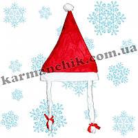 Новогодняя шапочка снегурочки А1489