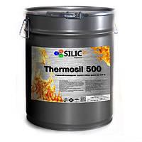 Термостойкая кремнийорганическая эмаль Thermosil 500 (чёрная глянцевая)