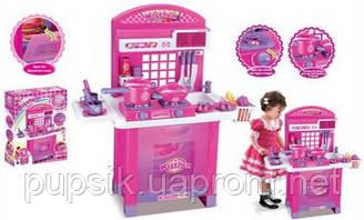 Игровой набор Кухня в чемодане с посудой 008-55А