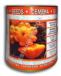 Семена патиссона «Янтарь» 250 г, инкрустированные (Vitas)