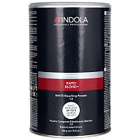 Акция !!! Indola Rapid Blond+Беспылевой осветляющий порошок Белый 500 гр до 8 уровней
