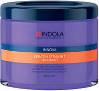 Indola Keratin Straight Маска для выравнивания волос 200 мл