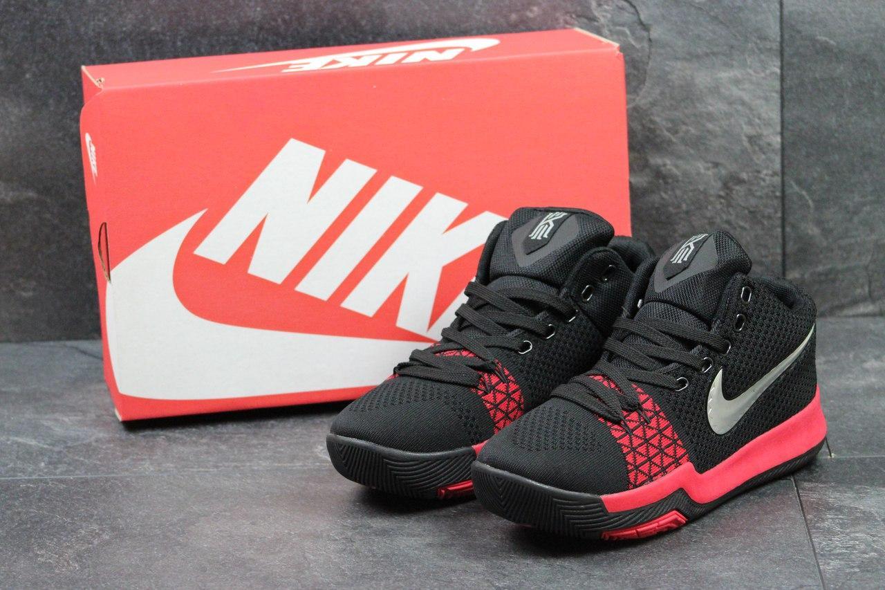 Кроссовки Nike Zoom мужские (черные с красным), ТОП-реплика