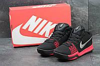 Кроссовки Nike Zoom мужские (черные с красным), ТОП-реплика, фото 1