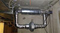 Монтаж (установка) канальных вентиляторов Vents
