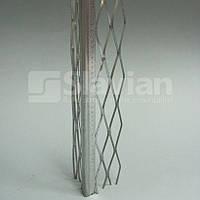 Уголок алюминиевый штукатурный (оцинкованный), 3м