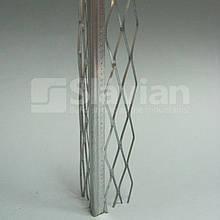 Куточок алюмінієвий штукатурний (оцинкований), 3м