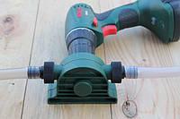 Помпа на дрель для перекачки выкачки 40 л/мин , фото 1