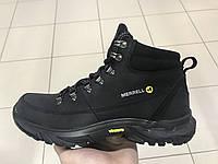 Merrell мужские ботинки чёрные