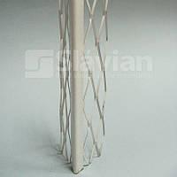 Уголок алюминиевый штукатурный (полимерное покрытие), 3м