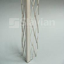 Куточок алюмінієвий штукатурний (полімерне покриття), 3м