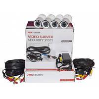 Комплект TurboHD відеоспостереження Hikvision DS-J142I/7104HQHI-F1/N
