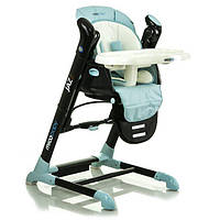 Детский стульчик для кормления Mioobaby Jazz, голубой