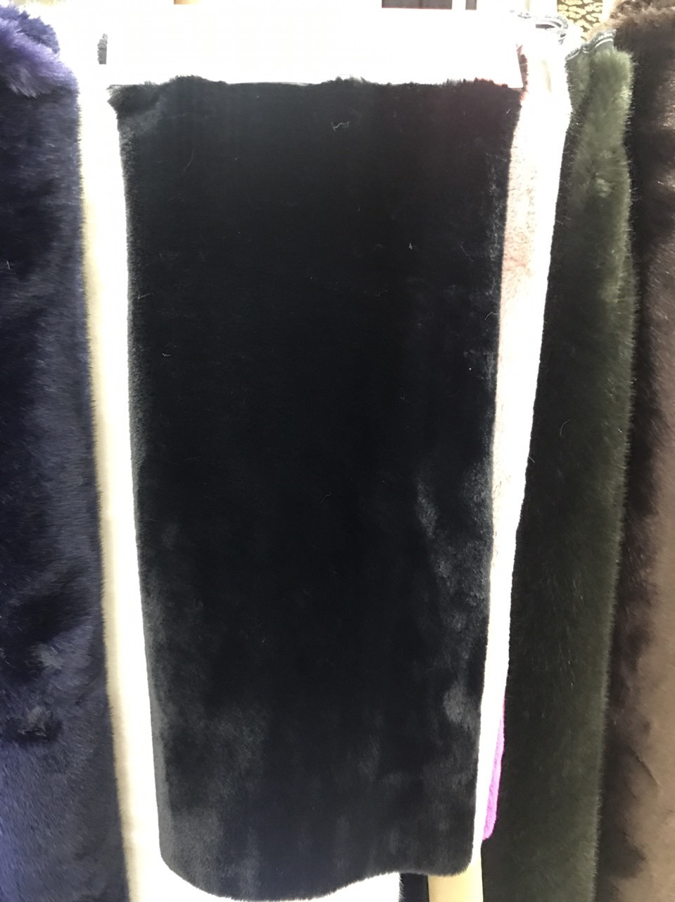 Боа, шарф, накидка, цвет черный