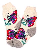 """Шерстяные носки детские """"Пампух 4 Бабочки"""""""