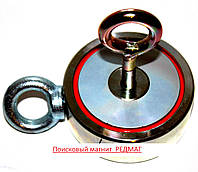 Неодимовый магнит двухсторонний  Редмаг  F 400*2