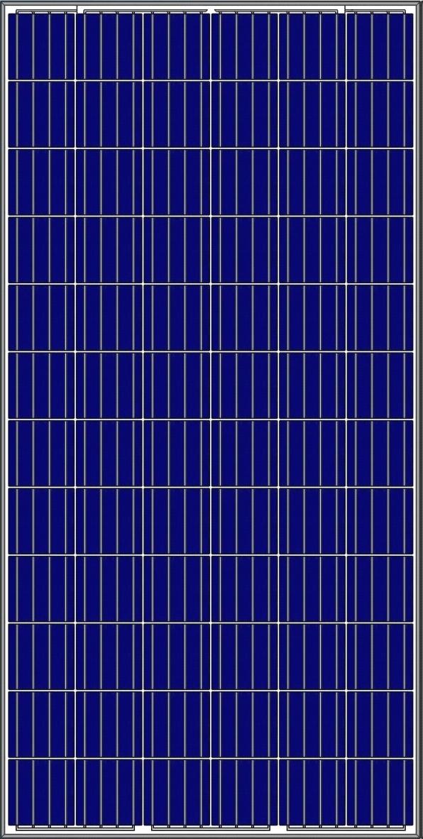 Сонячна батарея Amerisolar AS-6P-330 (330W 5BB)