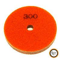 № 300 алмазный спонж d 125 mm