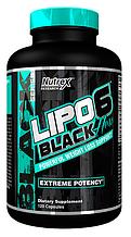 Жиросжигатель для женщин, Nutrex Research, Lipo-6 Black Hers, 120 caps
