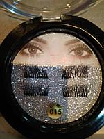 Накладные ресницы на двух магнитах Magic Eyelashes 015
