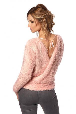 Модная женская кофта с открытой спиной, фото 2