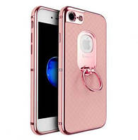 Чехол iPaky Ring Series для Apple iPhone 7 / 8 розовый