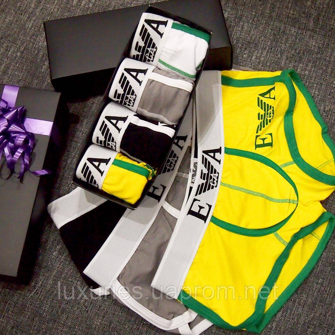 Подарочный набор мужских боксеров ARMANI  продажа, цена в Киеве ... 833e02bdf80