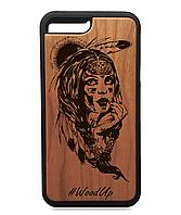 Деревянный чехол на Iphone 7\7s Full Protected