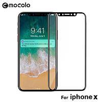 Защитное стекло iPhone X 3D (Mocolo 0.33 mm)