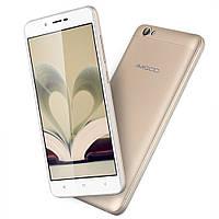 "Смартфон AMIGOO X15 White, Gold, 1/8Gb, 5/2Мп, 4 ядра, 2sim, экран 5.5"" IPS, 4000mAh, GPS, 3G, Android 6.0, фото 1"