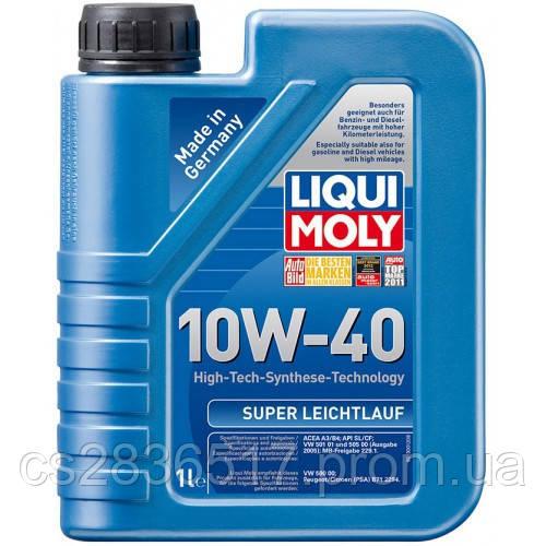 Масло моторное LIQUI MOLY SUPER LEICHTLAUF 10w40  1л
