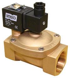 "Клапан 1 1/4"" нормально-закрытый GEVAX 1901-KBNG010-320-220AC  NBR  электромагнитный"