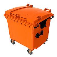 Контейнер для мусора пластиковый Sulo Синий, красный, желтый, белый, оранжевый