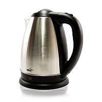 Чайник A100 KK-304A Silver, 1800W, 1.8 л, дисковый, индикатор работы, нержавеющая сталь