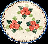 Керамическое блюдо Ø28 Яблука наливні