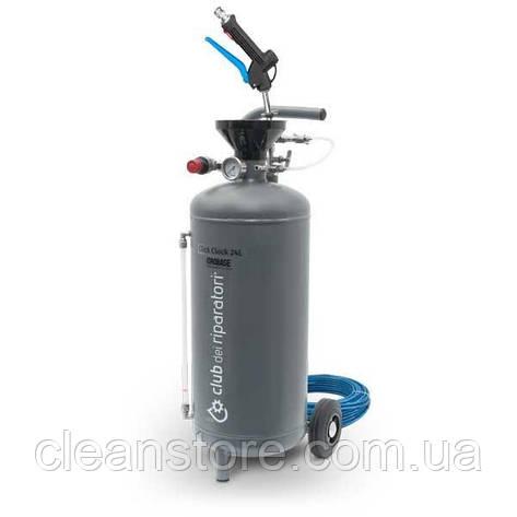 Пенный распылитель моющих средств Idrobase «Click Clock», 24л., фото 2