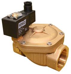 """Клапан 1 1/2"""" нормально-закрытый GEVAX NBR 1901-KBNH010-400-220AC электромагнитный (Италия)"""