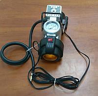 Компрессор автомобильный насос для автобусов  с фонариком 4*4, фото 1