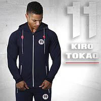 Японский брендовый спортивный костюм Kiro tokao 183 т.синий-красный