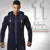 Спортивный костюм. Мужской Kiro tokao 156 т.синий-черный