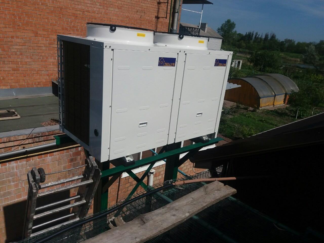Тепловой насос воздух-вода TEPLOMIR EVI30