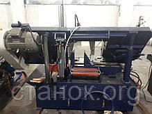 Zenitech CH 350 ленточнопильный станок по металлу полуавтоматичесикй ленточная пила отрезной зенитек цш 350, фото 3