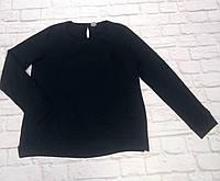Свитшот черный с карманами