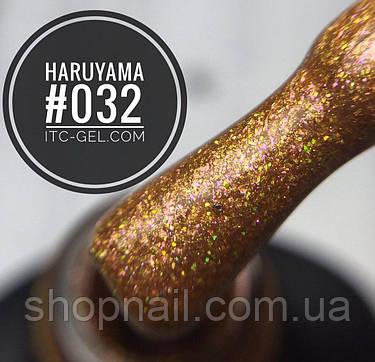 Гель-лак Haruyama №032 (карамельный с золотисто-розовым шиммером), 8 мл, фото 2