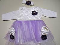 Платье на выписку и крестильный