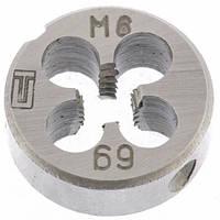 Плашка М6 х 1,0 мм// СИБРТЕХ 77017