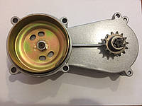 Трансмиссия для двигателя мотокосы, мопеда, скутера ВИД 5 (Тарелка 78мм, звездочка 14 лучей)