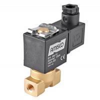 """Клапан 1/4"""" нормально-закрытый GEVAX 1901-ADNB016-020-220AC  NBR электромагнитный  (Италия)"""