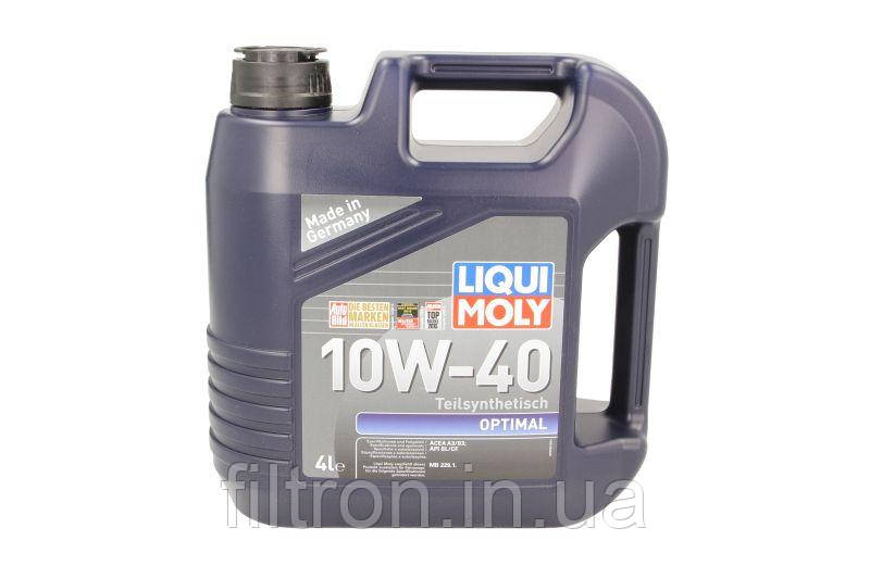 Масло моторное LIQUI MOLY OPTIMAL 10w40 4л